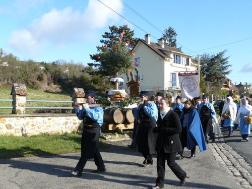 Saint Paul à Crouttes sur Marne : les processions