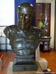 Musée Victor Schoelcher - Buste de bronze