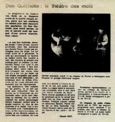Article Don Quichotte