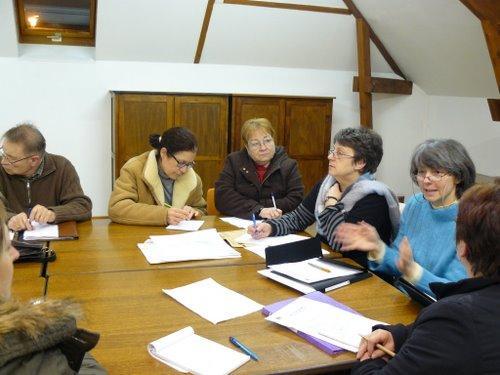 Villiers saint Denis : réunion de Lire et découvrir
