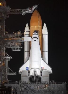la navette spatiale Endeavour
