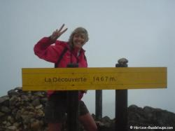 La Soufrière - au sommet