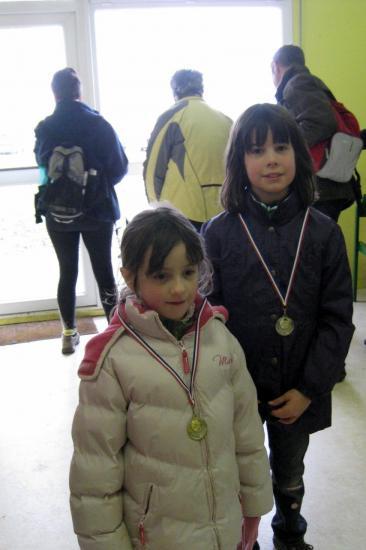 Jeunes Marcheuses médaillées