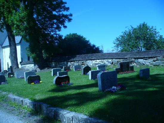 Un cimetière Norvégien
