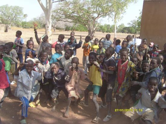 Les écoliers de Koré.