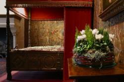 La chambre de Catherine de Médicis et ses merveilleux bouquets de fleurs