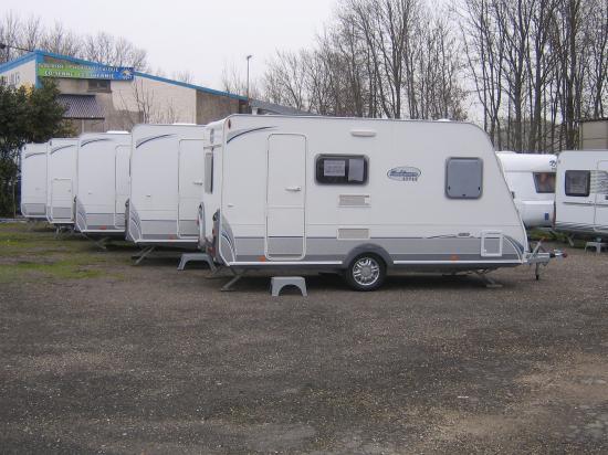 Caravanes neuves caravelair - Caravane 5 places lits superposes ...