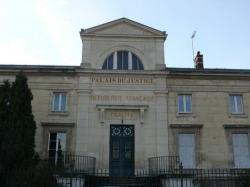 Palais de justice à Château-Thierry dans l'Aisne