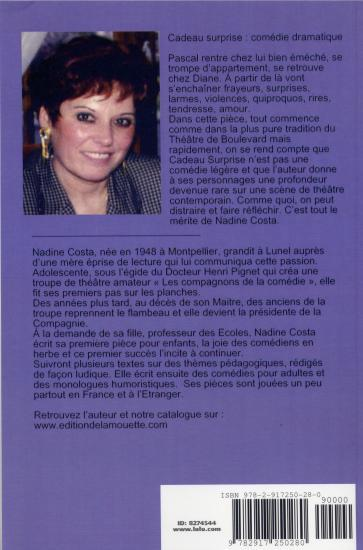 BIOGRAPHIE DE Nadine COSTA
