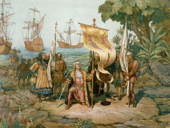 Débarquement de Christophe Colomb