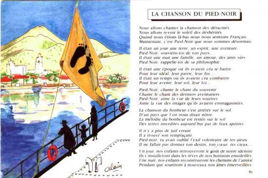 Divers Poèmes Sur Lalgérie