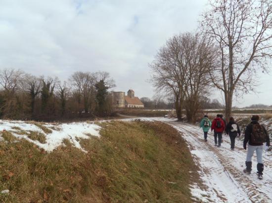 Eglise de Nucourt en vue