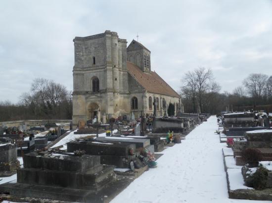 église Saint-Quentin - Nucourt - 95