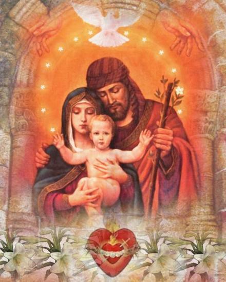 #3 -Chaîne de prières pour un problème d'emploi, de logement - Page 4 Sainte-Famille