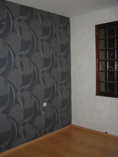 Chambre peinture ou tapisserie design d 39 int rieur et Tapisserie ou peinture
