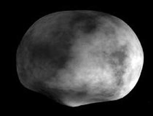 modèle de l'astéroïde VESTA