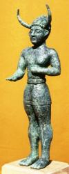 Statuette of horned god (Cyprus Museum)