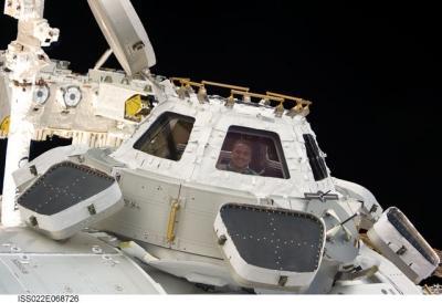 la Cupola sur le module Tranquility de l'ISS