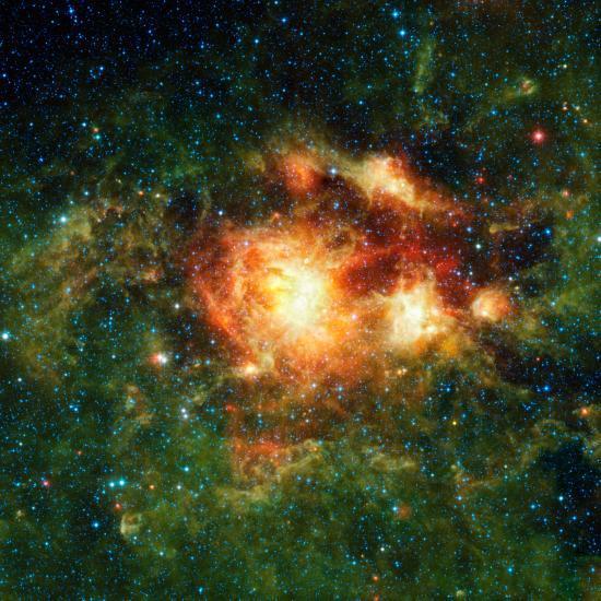 La galaxie NGC 3603