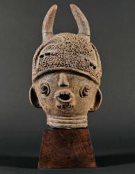 Tête de statue Jukun