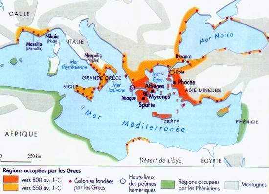 le monde grec (www.marane.net)