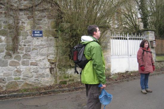 Richard et Paula, rue d'Ennery à Pontoise