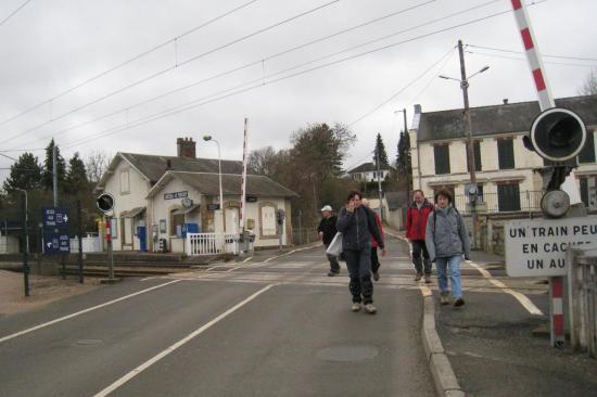 Gare de Santeuil - Le Perchay