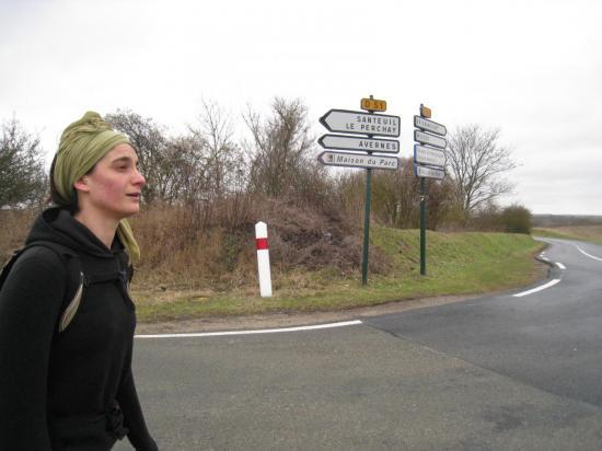 Marion traverse la D51