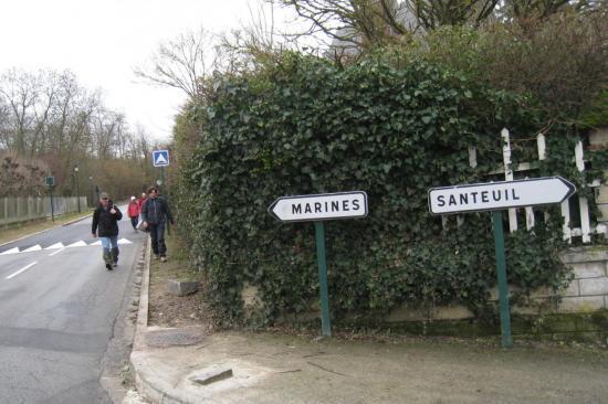 Randonneurs à Brignancourt