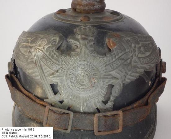 Pickelhaube casque à pointe Garde Adrian spiked helmet