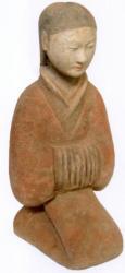 Servante Han agenouillée