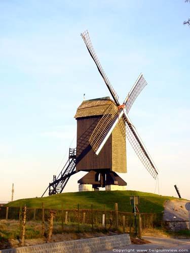 Moulin à vent sur pivot