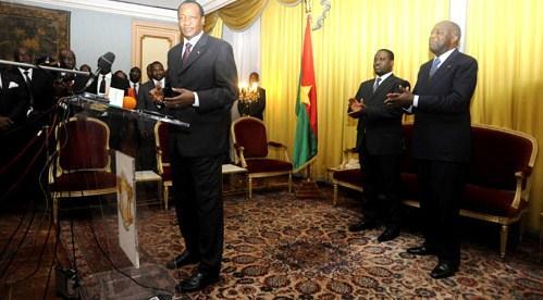 Compaoré - Gbagbo - Soro