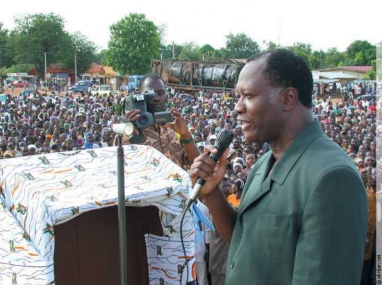 ADO, Président de Côte d'Ivoire
