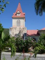 Eglise de  Beauséjour, la Désirade