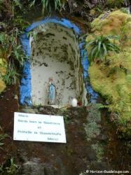 Oratoire du volcan la Soufrière