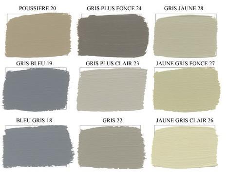 A chaque pi ces ses couleurs - Nuancier de gris peinture ...
