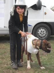 un couple de futurs agilistes aux Aristo'chiens