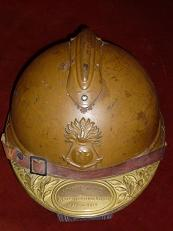 Casque Adrian troupes coloniales mle 1915