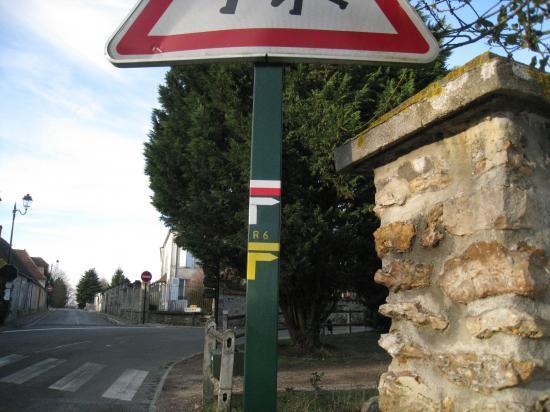 PR 6 et GR 1 à Bréançon (95)