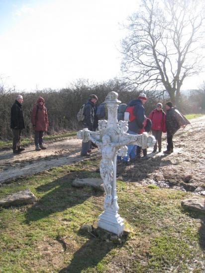 Christ en Croix près de Chavençon (95)