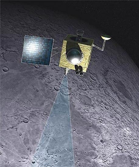 la sonde Chandrayaan-1
