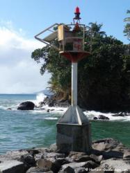 Port de pêche de Bananier - le phare