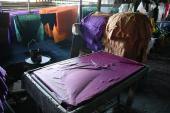 Fabrication des batiks