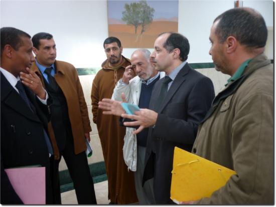 Mr Hafidi (2ème à droite)