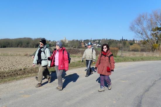 Annick, Maryvonne, Paula, Alain