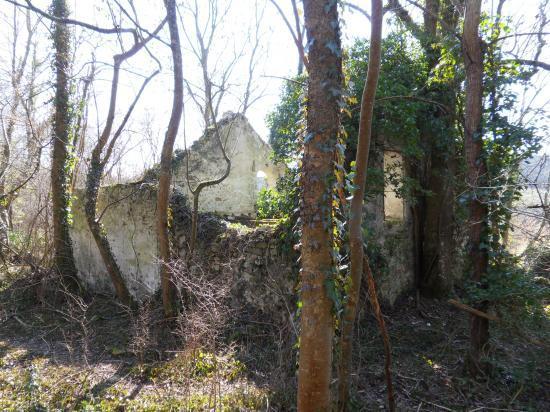 Ruines d'une maison, vers Theuville