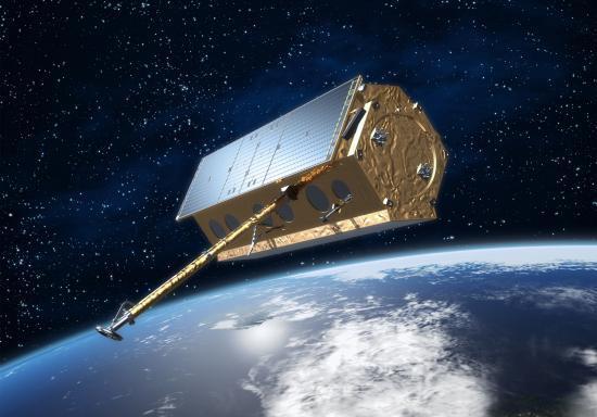 le satellite TerraSAR-X