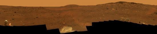 Panorama de la planète Mars