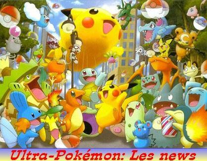 Les News sur Ultra-Pokémon!